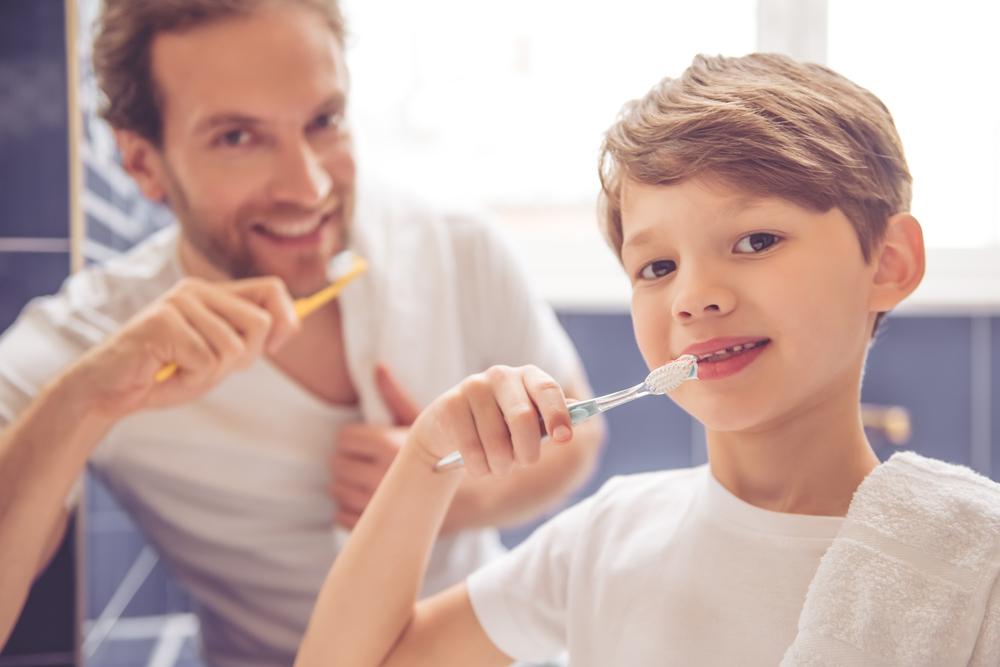 cuestiones sobre la higiene dental infantil