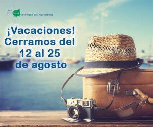 Agosto: Horario especial y…¡Vacaciones!